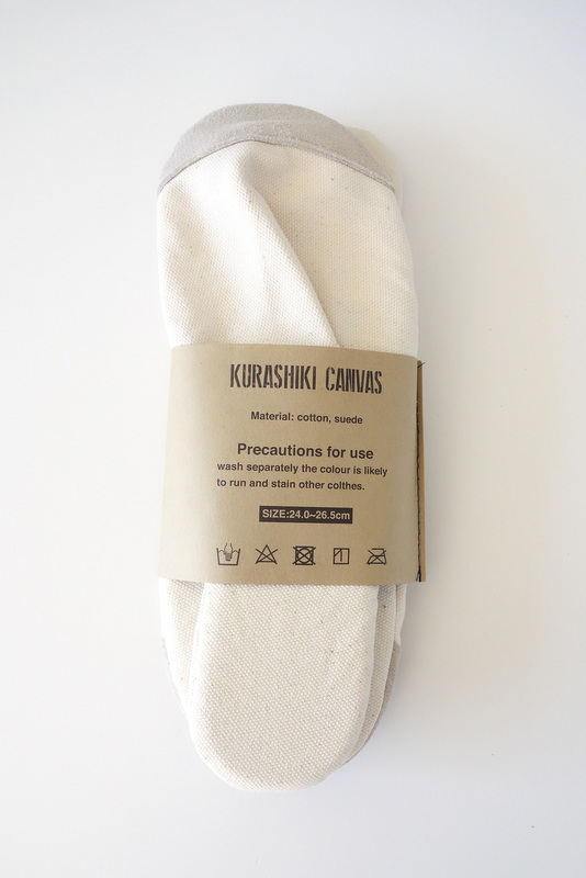 KURASHIKI CANVAS SLIPPERS